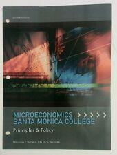 Microeconomics Santa Monica College Principles & Policy 12E, Binding *ORGANIZED*