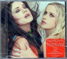 PAOLA & CHIARA - FESTIVAL - CD NUOVO SIGILLATO RARO