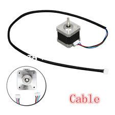 1pcs 700mm 4-wire Cable for 2 phase Nema 17 Stepper Motor CNC Reprap 3D Printer