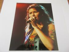 SHANIA TWAIN  SIGNED PICTURE WITH COA 20X25