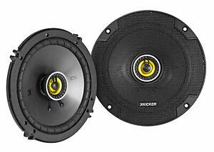 """Pair KICKER 46CSC654 CSC65 6.5"""" 6-1/2"""" 600 Watt 4-Ohm Car Audio Coaxial Speakers"""
