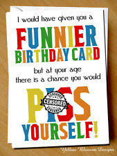 Funny Rude Birthday Card Sister Mum Friend Greeting Gift 30th 40th 50th 60th 70