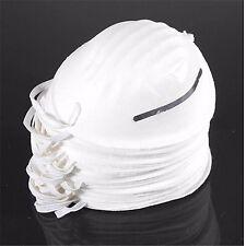 100 molestia máscaras de polvo limpieza moldeada Mascarilla Desechable Filtro respiratorio