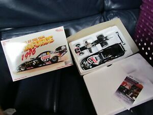 1996 John and Ashley Force Signed GTX NASCAR Car JSA Certified in Box