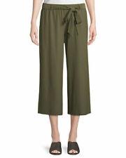 NWT Eileen Fisher Wide Leg Crop Knit Pants Size Medium