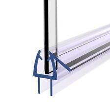 8mm Gap Bathroom Shower Screen Seal Rubber Plastic Fits 5-6mm Glass Bath Door