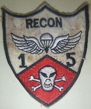 Elite Airborne - PATCH - US 1st / 5th SPECIAL FORCES - SKULL - Vietnam War, 3462