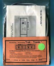 "One New in Package ""Trak-Tronik"" Block monitor system kit-Vintage new old stuff!"