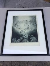 Norman Lindsay Love On Earth No 262/550 Limited Edition Facsimile Etching