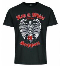 Support 81 Dark Side schwarzes T-Shirt mit 3 Farbigen Print