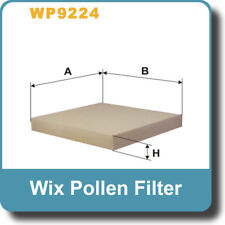 NEW Genuine WIX Replacement Pollen Filter WP9224