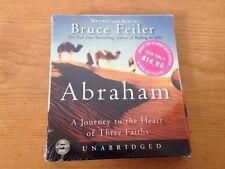 NEW Abraham Journey Heart Three Faiths Unabridged Bruce Feiler Audiobook CDs