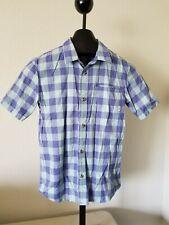 Nice Boys VANS Green Purple Plaid Size L Shirt W/Pockets