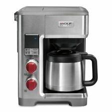 Wolf Gourmet WGCM100S Programmable Automatic Drip Coffee Maker