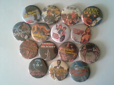 15 Ruggero Deodato button badges Cannibal Holocaust House on the Edge of Park