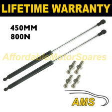 2X Muelles de gas puntales Universal Kit de coche o de conversión 450 mm 45 cm 800N & 4 Pines