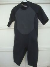DBX Wet Suit Shorty Super Stretch Neoprene L Men New w Tag Smooth Skin Collar