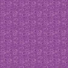 Benartex Ribbon Floral by Dover Hill  Purple Swirl Tone Tonal Fabric 744M-68