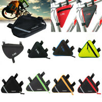 Waterproof Cycling Bike Sport Bicycle Triangle Frame Front Bag Saddle Panniers