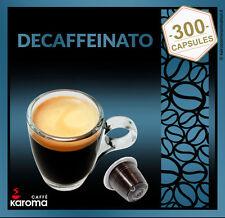 300 Italian Capsules Compatible NESPRESSO Top Arabica (Decaffeinated) $.33 Pods!