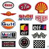 elf fuel gage  racing motorcar  embroidered iron sew on patch badge fashion
