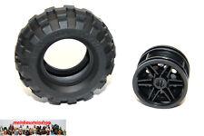 Lego® Technic 55976 / 56145 Ballon-Reifen m. Felge 56X26 Schwarz Black NEU