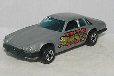 Hot Wheels Blackwall Jaguar XJS, Gray, Early Version, HK, Nice