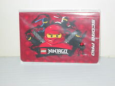 LEGO BRAND BUILDING TOYS NINJAGO SPINJUTSO PROMO SCORE PAD UNUSED SEALED 2010
