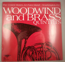 Woodwind & Brass Quintets by the United States Air Force Band LP Sealed NEW