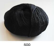 100% Luxurious Baby Alpaca Wool/Yarn Black 500 DK 50g knitting crochet Indiecita