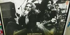 LED ZEPPELIN LIVE RARE NEW NEVER OPENED POSTER MID 2000'S VINTAGE PAGE BONHAM