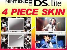 nintendo DS Lite - MICHAEL JACKSON - 4 Piece Decal Sticker vinyl