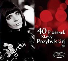 Slawa Przybylska - 40 Piosenek Slawy Przybylskiej (CD 2 disc) NEW