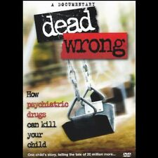 Dead Wrong - How Psychiatric Drugs Can Kill Your Kids DVD - Health, Diet, Pills