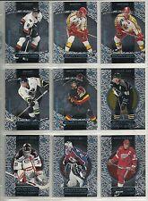 1999-00 Upper Deck Ovation 90-card Hockey Set  w/ Rookies & Short Prints