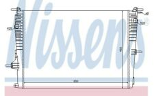 NISSENS Radiador 637606