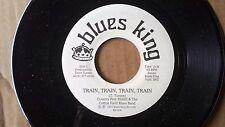 BLUES 45: COUNTRY PETE McGILL & THE COTTON FIELD BLUES BAND Train, Train, Train