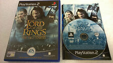The Lord of the Rings: The Two Towers for Sony PlayStation 2 - Complete - PS2