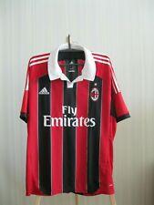 AC Milan 2012/2013 Home Sz XL Adidas football shirt soccer jersey maillot trikot