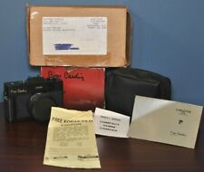 Vintage Genuine Pierre Cardin 35MM Camera Color Optical Lens Series w/everything