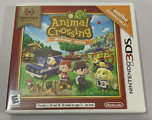 Animal Crossing: New Leaf Welcome Amiibo Nintendo 3DS 2DS 3DSXL 2DSXL Lot