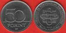 """Hungary 50 forint 2015 """"National and Historic Memorials"""" UNC"""