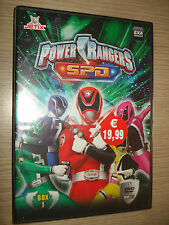 COFANETTO POWER RANGERS SPD DVD BOX 1(5 DVD)Episodi 1/20+DVD HOME A CASA NUOVI
