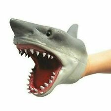 Schylling Shark Figure Stretchy Hand Puppet Toy
