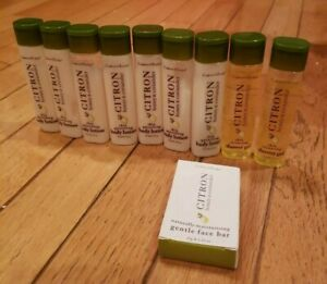 10 PC Crabtree & Evelyn Citron Honey Coriander  Shower Gel, Body Lotion, Soap