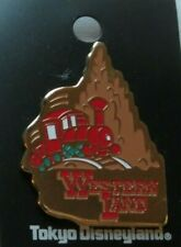 Disney Tdl Tokyo Westernland Thunder Mountain Train Attraction Pin