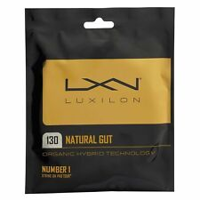 Luxilon Natural Gut 16 Tennis String (Natural) Authorized Dealer