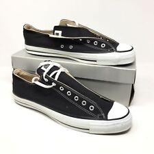 7a8e33b02b79b3 Men s NEW 1980s Converse All Star Shoes Sneakers Size 15 Black Made USA Q15