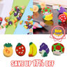 Mini Fruit Shaped Rubber Pencil Eraser Novelty Stationery Gift G0R