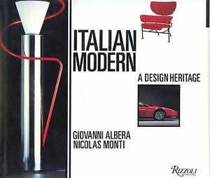 Italian Modern Design Furniture Architecture Etc. - Designs Makers Dates / Book